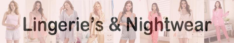 Lingerie's & Nightwear
