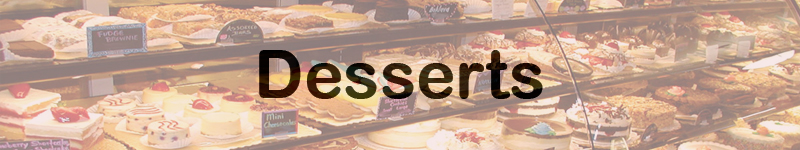 Sweets & Desserts