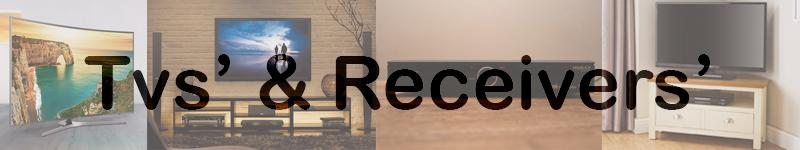 TVs' & Receivers'