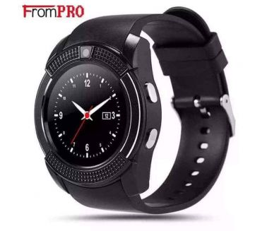 Smart watch  for Android and iOS ساعة ذكية للاندرويد و آيفون بشريحة