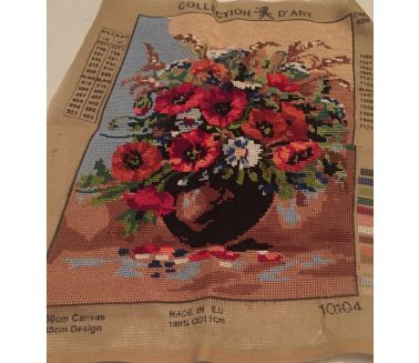 Flower Vase Canvas