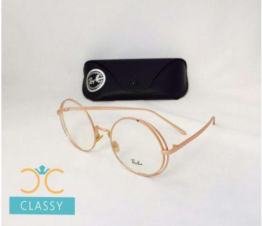 RayBan Glasses (HC) Gold Metal