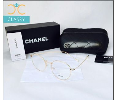 Chanel Glasses (HC) Metal Gold