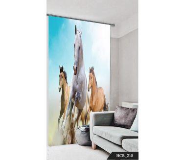 Horses Curtain - Code:HCR-218