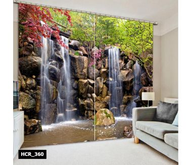 Nature Printed Curtain - Code:HCR-360