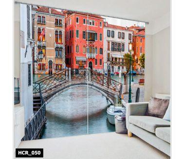 Venice  Printed Curtain - Code:HCR-050