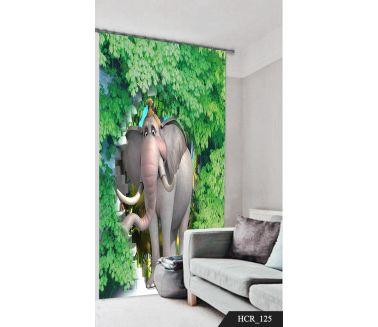 Tarzan  Printed curtain - Code:HCR-125