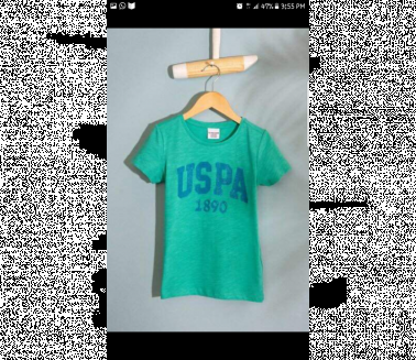 U. S Polo Girls Shirts